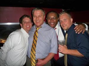 Chris, John, me, and Andy