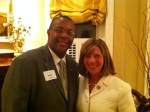 Rep. Jo Ann Emerson with DC Log Cabin President Robert Turner