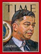 Time Magazine Cover of Sen. Edward Brooke